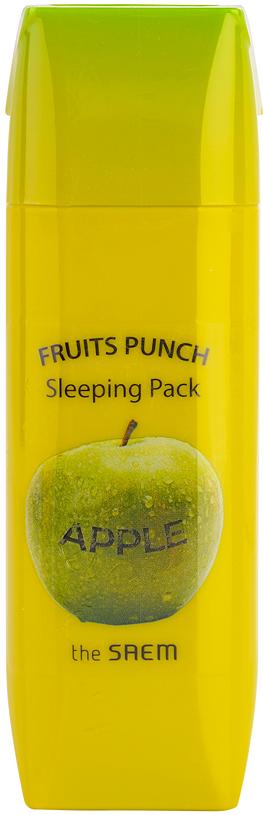 The Saem Маска ночная яблочный пунш Fruits Punch Apple Sleeping Pack, 100 мл holika holika маска для лица ночная медовая с канолой honey sleeping pack canola 90 мл маска для лица ночная медовая с канолой honey sleeping pack canola 90 мл 90 мл