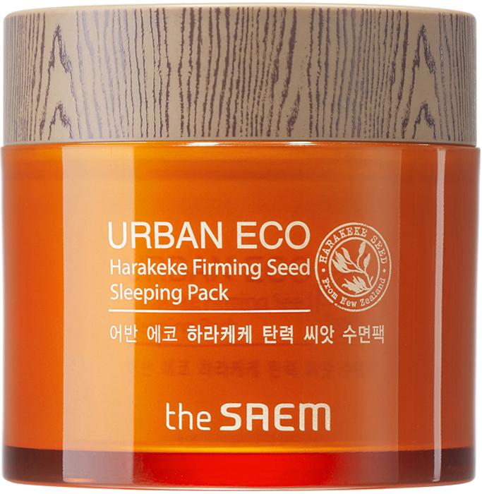 The Saem Маска ночная с экстрактом новозеландского льна Urban Eco Harakeke Firming Seed Sleeping Pack, 80 млСМ965Новая линия от The Saem Urban Eco Harakeke Firming – представляет ночную маску на основе новозеландского льна, которая оказывает восстанавливающее и укрепляющее действие. Маска активизирует клеточный метаболизм, ускоряет синтез коллагена и эластина, помогает восстановить тонус и эластичность кожи, делает менее заметными морщины, дарит коже ощущение комфорта и длительное увлажнение.Обьем: 80 мл