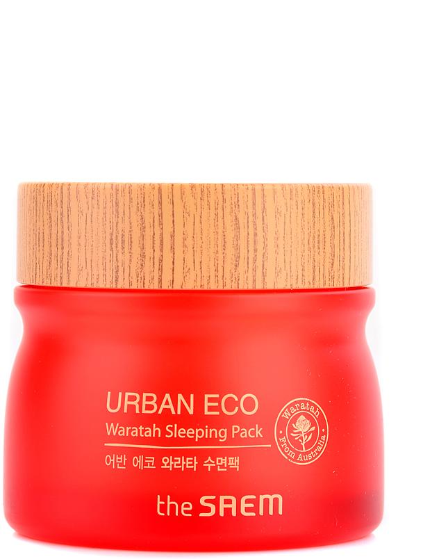The Saem Маска для лица ночная с экстрактом телопеи Urban Eco Waratah Sleeping Pack, 80 млСМ2026Ночная маска обладает легкой гелевой структурой, восстанавливает и ухаживает за кожей в ночное время, снимает стресс. Обладает эффективным тонизирующим действием, укрепляет тутор кожи, насыщает энергией, препятствует появлению дряблости кожи. Способствует осветлению тона, улучшению эластичности. Крем содержит 71% экстракта телопеи, натуральный растительный комплекс, керамиды, экстракт сливы, эмульгированное масло яблока, экстракт лайма и др.Объем: 80мл