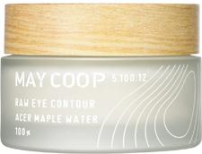 May Coop Крем для кожи вокруг глаз c лифтинг эффектом Raw EYE COUNTOUR 30 мл00644Роскошное лифтинг средство нежно и деликатно питает и укрепляет кожу вокруг глаз, устраняя мимические морщинки. Уникальная формула на 50% состоит из весеннего сока кленового дерева, молекулы которого обладают способностью глубоко проникать в кожу, достигая эффекта ревитализации и насыщения влагой. Невероятно мощный по омолаживающему действию состав включает биопептиды, аденозин, гиалуроновую кислоту, комплекс редких экстрактов фруктов и растений. Крем с изысканным ароматом оказывает подтягивающее и разглаживающее действие.