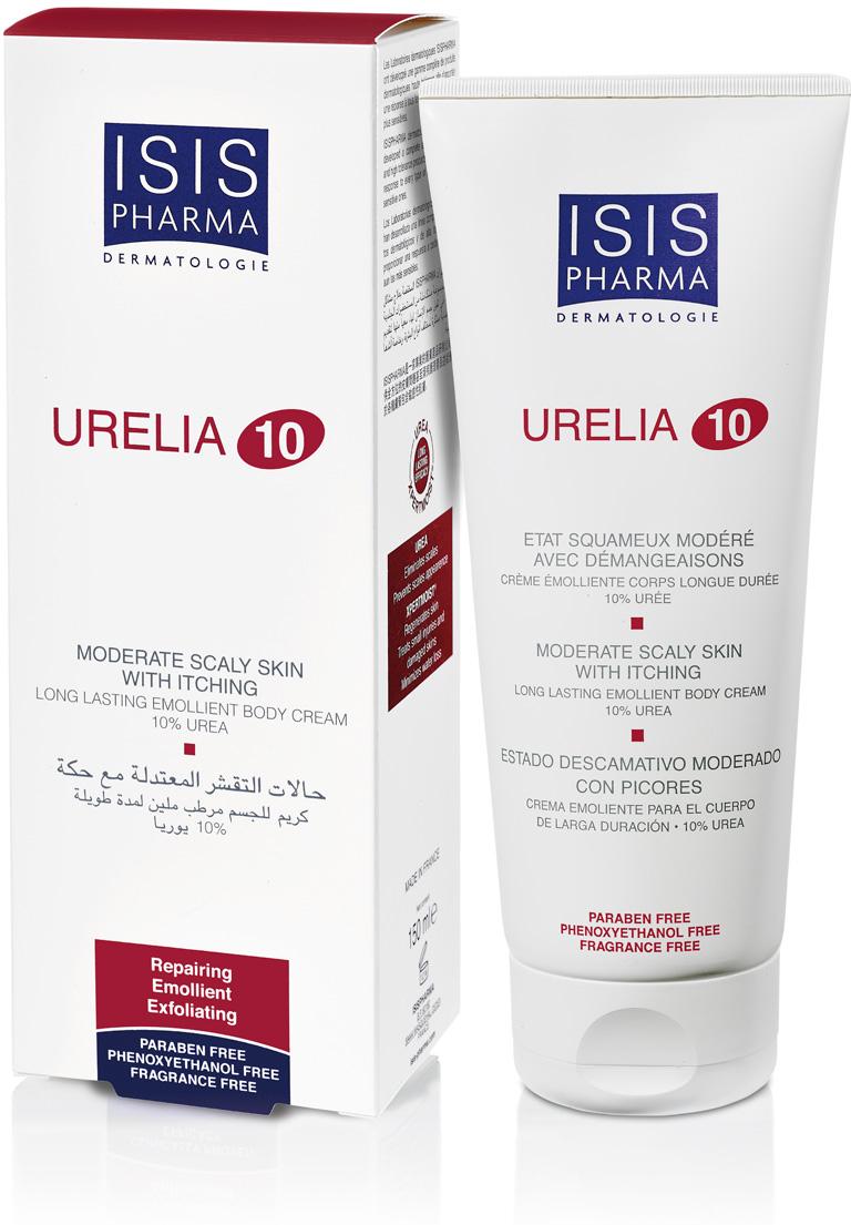 Isispharma Крем для тела увлажняющий Urelia 10  сухой кожи, склонной  раздражению  шелушению 150 мл