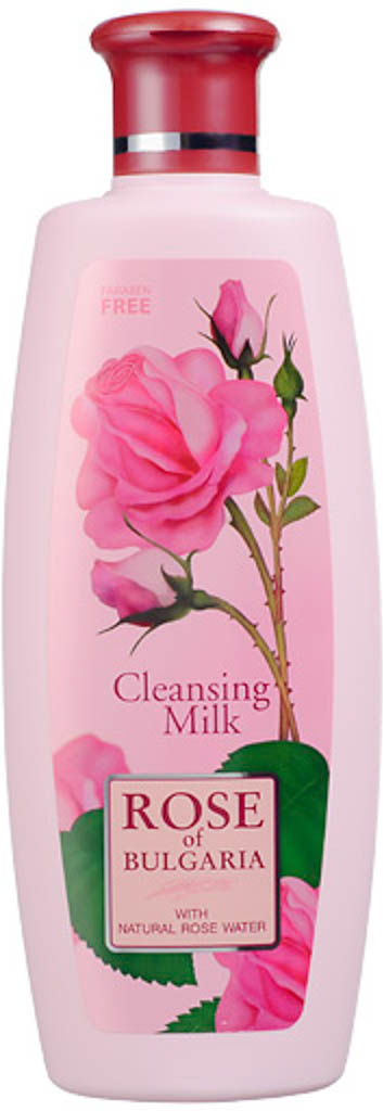 Rose of Bulgaria Молочко очищающее, 330 мл62620Молочко мягко очищает и питает кожу лица и шеи. Содержит натуральную розовую воду, имеющую антибактериальнные и успокаивающие свойства. Улучшает гидратацию, возвращает чистоту и эластичность. Подходит для любого типа кожи.Нежное и мягкое молочко создано для ежедневного очищения лица, шеи и области декольте, а также оно используется перед массажем или косметической процедурой. Натуральная розовая вода с большим содержанием эфирного розового масла является основным компонентом данной эмульсии. Очищающее молочко подходит для всех возрастов и типов кожи, особенно рекомендуется для чувствительной. Молочко освежает и тонизирует Вашу кожу, тщательно удаляя косметику, жир и любые загрязнения. Оказывает успокаивающее воздействие, поддерживает необходимый баланс увлажненности, обладает лёгким противовоспалительным действием, сохраняет эластичность и мягкость кожи. Обладает гармоничным ароматом.