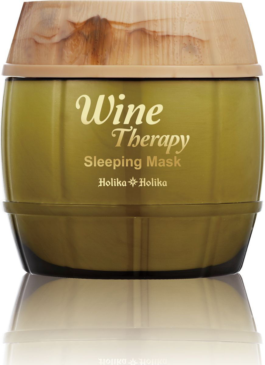 Holika Holika Ночная винная маска-желе белое вино , 120 мл holika holika wine therapy sleeping mask red wine маска для лица ночная красное вино 120 мл