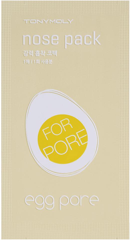 TonyMoly Пластырь для носа Egg Pore Nose Pack, 7 штSS05020400Поможет избавиться от черных точек на носу, убрать излишки жира и сузить поры. Возвращает коже привлекательный и здоровый вид. Для поддержания достигнутых результатов рекомендуется применять патч 2-3 раза в неделю. Несмотря на быстрый эффект от применения, кожа не получает микротравм или стресса: быстро восстанавливается после процедуры. Небольшое покраснение кожи после снятия патча проходит в течение 10 минут, поэтому средство могут использовать даже обладательницы чувствительной кожи.