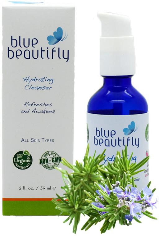 Blue Beautifly Увлажняющее очищающее средство, 59 млBB-007Для всех типов кожи. Нормализует и улучшает естественное увлажнение кожи, придаёт ей блеск, мягкость и гладкость. Это безмыльное очищающее средство деликатно удаляет загрязнения и макияж, не раздражает кожу лица, не сушит и не стягивает кожу. Органические растительные экстракты листьев Оливы, Ромашки, Лаванды и Розмарина обладают регенирирующими и омолаживающими свойствами. Кокосовое масло, Овсяная пудра и Алоэ Вера защищают и смягчают кожу. Пробуждающая ароматерапевтическая смесь из Розмарина, Мяты и эфирного масла Лаванды освежает кожу и повышает настроение.