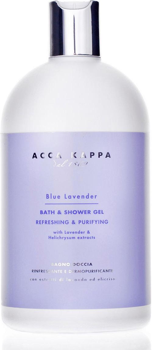 Acca Kappa Гель для душа и ванны Голубая Лаванда 500 мл acca kappa масло для рук и тела зеленый мандарин 200 мл