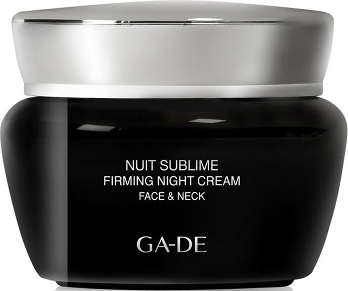 GA-DE Ночной крем для лица и шеи Nuit Sublime, 50 мл сыворотки ga de укрепляющая сыворотка для лица gold premium