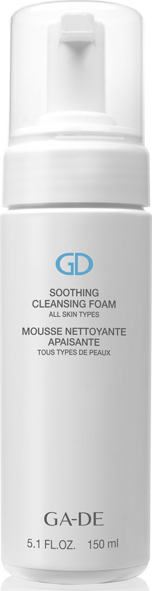 GA-DE Очищающая и успокаивающая пенка Soothing Cleansing Foam (для всех типов кожи ), 150 мл лосьон ga de soothing eye make up remover