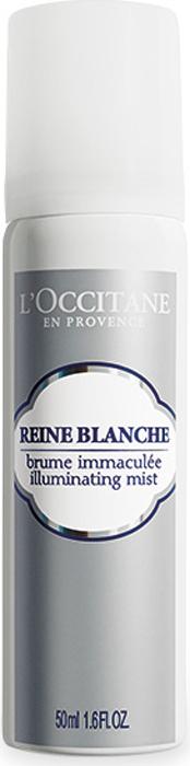L'Occitane Сияющий тоник-спрей для лица Белая Королева 50 мл тоник для лица увлажняющий aqua balance