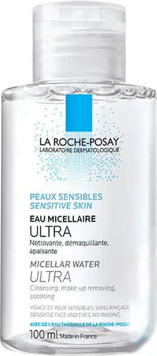 La Roche-Posay Physio Мицеллярная вода Reactive skin Ultra, 100 млM9137600Мицеллярная вода Ultra, разработанная Ля Рош Позе, мягко и тщательно очищает чувствительную, склонную к аллергии кожу лица и глаз. Новая архитектура формулы мицеллярной воды позволила соединить силу мицелл и глицерина для достижения ультраэффективной переносимости. Преимущества: Легкое скольжение Новая текстура равномерно распределяется по поверхности кожи, не вызывая трения и повреждения защитного барьера кожи. Надежное сцепление Благодаря новой формуле средства происходит прочный захват и удержание макияжа и микро-загрязнений. Легкой удаление Инновационная формула обеспечивает моментальное очищение и удаление макияжа даже с глаз. Не требует смывания водой.