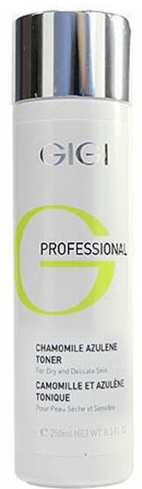 GIGI Professional Азуленовый лосьон-тоник Outserial, 250 мл gigi пудра антисептическая прополисная propolis powder outserial 50 мл
