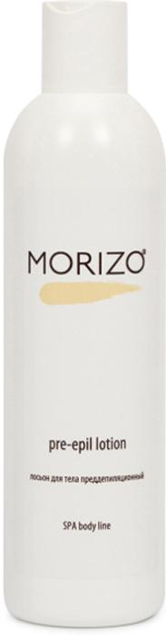Morizo Лосьон для тела преддепиляционный, 300 мл109025Лосьон преддепиляционный подготавливает кожу к процедуре депиляции, обезжиривая ее и очищая от загрязнений, обеспечивая качественное сцепление пасты для шугаринга или воска для депиляции с контактной поверхностью. За счет наличия в составе эфирного масла мяты, лосьон обладает выраженным охлаждающим эффектом. Легкая фактура содержит экстракт ромашки лекарственной и пантенол и оказывает восстанавливающий, выраженный освежающий эффект.