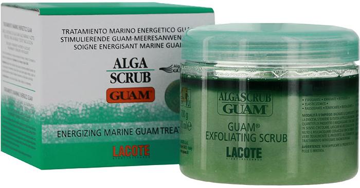 Скраб для тела Guam Algascrub Guam, увлажняющий, 700 млSL-717Увлажняющий скраб для тела Lacote Algascrub Guam содержит исключительно натуральные компоненты: экстракты водорослей, морские соли, эфирные и растительные масла. Прекрасный пилинг ороговевших клеток стимулирует клеточную регенерацию, улучшает текстуру и цвет кожи. Скраб для тела, обогащенный ценными маслами и морскими композициями, питает, полирует, минерализует, обновляет кожу и готовит ее к процедуре обертывания. Активные ингредиенты: экстракт водорослей Guam, морские соли, подсолнечное масло, масло жожоба, масло зародышей пшеницы, масло энотеры, миндальное масло, масло перечной мяты, лимонное масло, розмариновое масло. Способ применения: распределить скраб равномерно по влажной коже тела массирующими круговыми движениями, смыть водой. Применять 1-2 раза в неделю. Характеристики: Объем: 700 мл. Размер упаковки: 10,5 см x 10,5 см x 9,3 см. Изготовитель: Италия. Артикул: 0671. Товар сертифицирован.