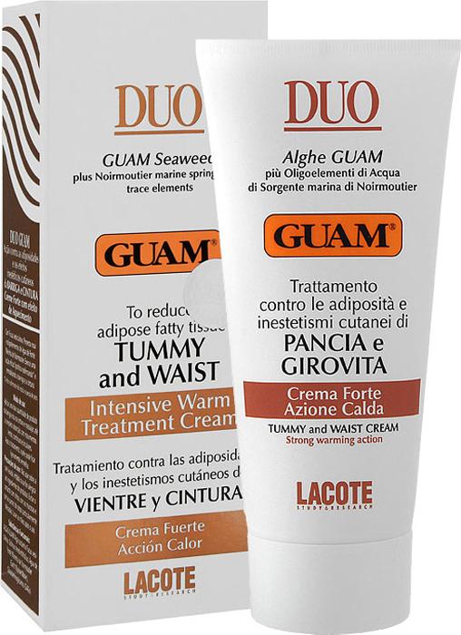 Крем для живота и талии Guam, с разогревающим эффектом, 150 мл винодерм крем с эффектом детоксикации отзывы