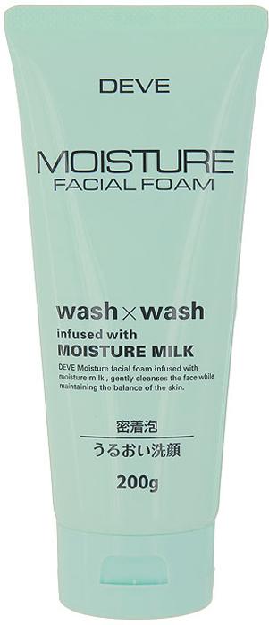 Пенка для лица Deve Wash&Wash, увлажняющая, 200 г013117Увлажняющая пенка для лица Deve Wash&Wash содержит молочко, которое хорошо увлажняет кожу, делая ее гладкой. Благодаря густой пене проникает глубоко в поры и удаляет излишки жира.Способ применения: выдавите небольшое количество средства на руку, нанесите на влажное лицо, затем тщательно смойте теплой водой. Характеристики:Вес: 200 г. Артикул: KY-53.Производитель: Япония. Товар сертифицирован.