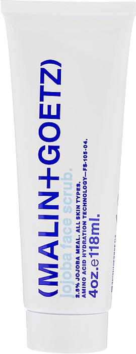 Malin+Goetz Скраб для лица Жожоба, 118 мл65501053Очищающий и увлажняющий скраб Malin+Goetz Жожоба сочетает успокаивающее действие кориандра, аминокислоты, измельченные орехи жожоба и гранулы технологически инновационного полиэтилена, которые мягко и эффективно очищают и восстанавливают рН-баланс всех типов кожи, особенно чувствительной и поврежденной кожи. Помогает очистить кожу от омертвевших клеток, стимулирует обновление клеток и успокаивает, не вызывая раздражения, сухости и повреждения кожи. Полностью смывается водой, оставляя кожу гладкой и ровной. Характеристики:Объем: 118 мл. Производитель: США. Товар сертифицирован.