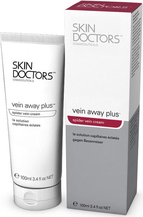 Skin Doctors Специализированный препарат Vein Away Plus, для тела от венозных звездочек, 100 млABR13Созданный в Австралии на основе разглаживающих кожу компонентов, препарат Vein Away Plus обладает большими возможностями решения многих косметико-дерматологических проблем. Он устраняет не только поврежденные капилляры, но и красную старческую сыпь, рожистые воспаления кожи. Комплексное действие профессионально подобранных ингредиентов Vein Away Plus может давать результаты, вполне сопоставимые с результатами визита к косметическому хирургу, только без болезненных ощущений и существенного урона для вашего бюджета. Основные активные ингредиенты: Phitotonine Фитотонин - (сильно концентрированная смесь экстрактов Арники, Кипариса и Купены), богат флавоноидами, сапонозидами и процианидолами,оказывающими благотворное воздействие на капиллярное кровообращение и стенки сосудов. Научные исследования показали, что после применения Фитотонина через 4 недели кровообращение к ногам усилилось на 26%, краснота пораженного участка кожи уменьшилась на 24%, внесосудистый приток крови сократился на 25%. Aloe Vera гель - Алоэ Вера - это экстракт из листьев растения алоэ. Проникая в глубокие слои кожи, Алоэ Вера доставляет туда питательные вещества и влагу, необходимые для формирования новых клеток. Это помогает предотвратить потерю коллагена и эластина в тканях кожи. Алоэ Вера помогает восстановить pH-баланс кожи, действуя как мягкое вяжущее средство, укрепляя и тонизируя кожу, а также защищая ее от образования косметических дефектов. Витамин C - этот жирорастворимый вариант витамина C после нанесения на кожу очень быстро проникает вглубь и усиливает действие биофлавонов входящих в Фитотонин. Он также оказывает огромное антиоксидантное действие, защищая кожу от вредного воздействия свободных радикалов и стимулируя выработку коллагена. В результате кожа утолщается и уплотняется, а сосудистые звездочки пропадают.Allantoin (аллантоин) - используется во всех косметических средствах, предназ
