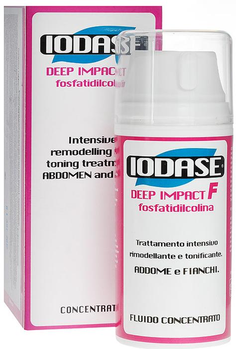 Iodase Сыворотка для тела Deep Impact F-Fosfatidilcolina, против жировых отложений, 100 мл сыворотка для тела iodase deep impact ultra serum iodase