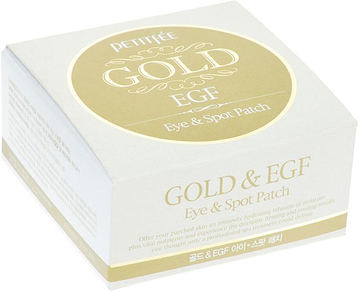 Petitfee Маска для кожи вокруг глаз, гидрогелевая с золотом и EGF, 90 шт недорого