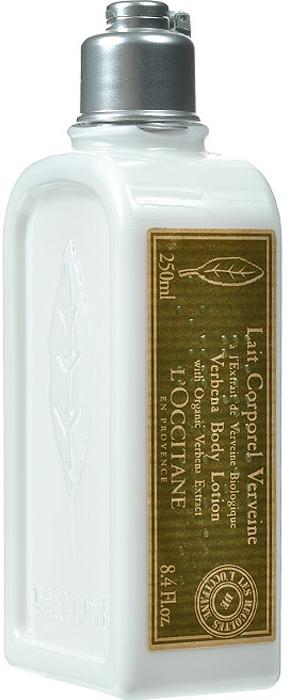 LOccitane Молочко для тела Вербена, увлажняющее, 250 мл264096Молочко для тела LOccitane Вербена, обогащенное органическим экстрактом вербены и маслом виноградных косточек, увлажняет и питает кожу, придавая ей приятный и свежий аромат. Благодаря универсальному цитрусовому аромату, молочко подходит как женщинам, так и мужчинам. Легкое молочко быстро впитывается и мгновенно устраняет сухость кожи. Характеристики: Объем: 250 мл. Производитель:Франция. Артикул: 264096. Loccitane (Л окситан) - натуральная косметика с юга Франции, основатель которой Оливье Боссан.Название Loccitane происходит от названия старинной провинции - Окситании. Это также подчеркивает идею кампании - сочетании традиций и компонентов из Средиземноморья в средствах по уходу за кожей и для дома.LOccitane использует для производства косметических средств натуральные продукты: лаванду, оливки, тростниковый сахар, мед, миндаль, экстракты винограда и белого чая, эфирные масла розы, апельсина, морская соль также идет в дело. Специалисты компании с особой тщательностью отбирают сырье. Учитывается множество факторов, от места и условий выращивания сырья до времени и технологии сборки. Товар сертифицирован.