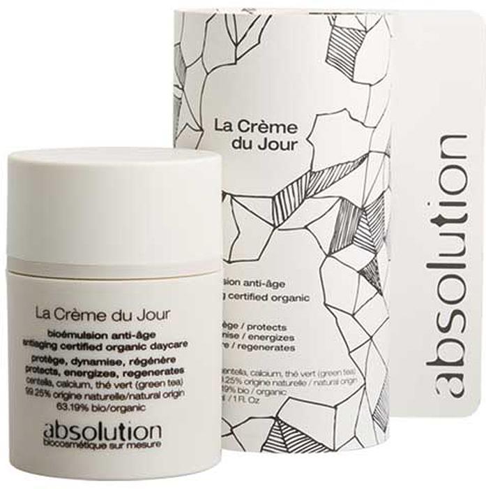Absolution Крем для лица, антивозрастной, дневной, 30 млABS0001Дневной крем для лица Absolution борется со старением кожи. Зеленый чай, богатый антиоксидантами, защищает кожу, устраняет дефицит коллагена и эластина. Кальций улучшает клеточный обмен. Центелла регенерирует кожу, а также используется в аюрведической медицине для стимуляции синтеза коллагена. Характеристики:Объем: 30 мл. Артикул: ABS0001. Производитель: Франция. Товар сертифицирован.