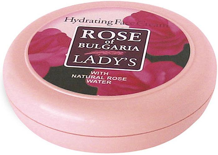 Rose of Bulgaria Крем для лица, увлажняющий, для любого типа кожи, 100 мл63375Увлажняющий крем для лица Rose of Bulgaria представляет собой однородную кругообразную массу белого цвета с приятным запахом. Питает и укрепляет естественные защитные механизмы кожи.Содержит розовую воду, Д-пантенол, витамин Е и масло жожоба. Подходит для любого типа кожи. Питает и укрепляет естественные защитные механизмы кожи. Эффективно восстанавливает водный баланс кожи, освежает цвет лица и увлажняет. Подходит для любого типа кожи. Способ применения: утром нанести крем на хорошо очищенную кожу легкими массажными движениями.Товар сертифицирован.