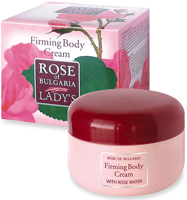 Rose of Bulgaria Крем для придания упругости кожи тела, 330 мл