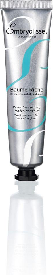 Embryolisse Крем для лица Baume Riche, охлаждающий, для очень сухой, раздраженной и чувствительной кожи, 40 мл80105Невероятно питательный охлаждающий крем для очень сухой, раздраженной и чувствительной кожи.Идеальный продукт для ухода за сухой кожей! Насыщенный питательными и защитными ингредиентами (экстракт оливы, масло дерева ши, белый пчелиный воск), бальзам эффективно восстанавливает кожу, возвращает сухой коже бархатистость и комфорт.Разработанный специально для сухой кожи лица, питательный бальзам вернет ей нежность, упругость и сияние. Кожа снова наполнена здоровьем.Способ применения: использовать по мере необходимости; наносить средство легкими круговыми движениями, избегая область вокруг глаз.Товар сертифицирован.