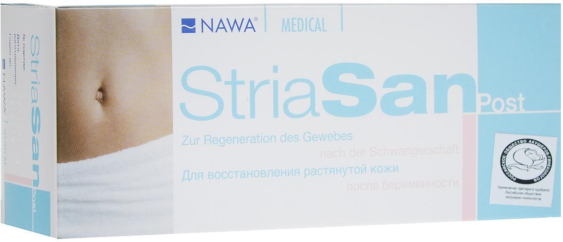StriaSan Крем для восстановления растянутой кожи StriaSan Post, после беременности, 150 мл1110Крем StriaSan POST восстанавливает растянутую после родов кожу. Специально созданный активный компонент крема воздействует на глубокие слои кожи, содержащие эластиновые и коллагеновые волокна.Поддерживает синтез коллагена, уменьшает количество образовавшихся растяжек. Способствует реконструкции коллагена (устранение микротравм).Регулярное использование крема StriaSan POST препятствует образованию рубцов от растяжек после рождения ребенка. Сохраняет упругость и эластичность соединительной ткани, способствует регенерации кожи, улучшает кожное питание.Благодаря наличию в составе только высококачественных масел кожа становится эластичной и бархатистой.Рекомендуется начинать применять StriaSan POST в первые месяцы после родов.Товар сертифицирован.