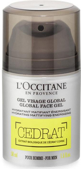 "L'Occitane Гель для ухода за кожей лица ""Cedrat"" 50 мл"