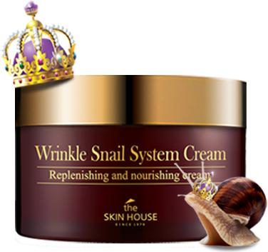 The Skin House Улиточный крем для лица анти-возрастной, 100 мл the skin house snail cream улиточный крем анти возрастной 50 мл