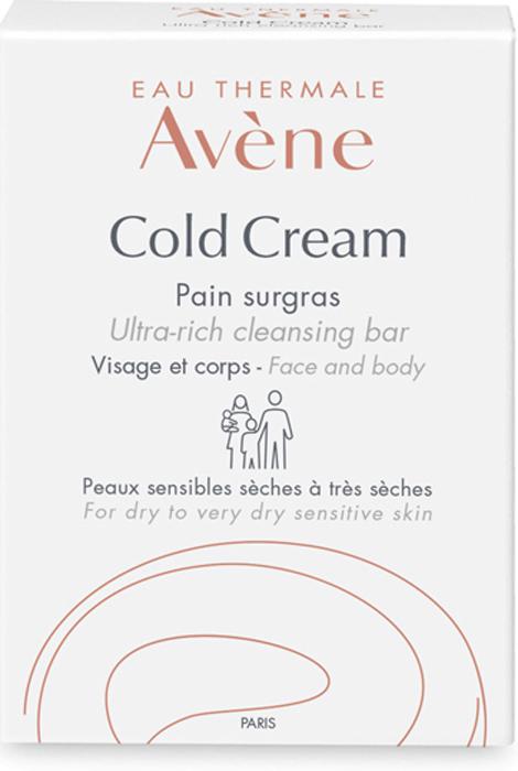 Avene Сверхпитательное мыло Cold-cream для лица и тела 100 г мыло avene мыло для сверхчувствительной кожи