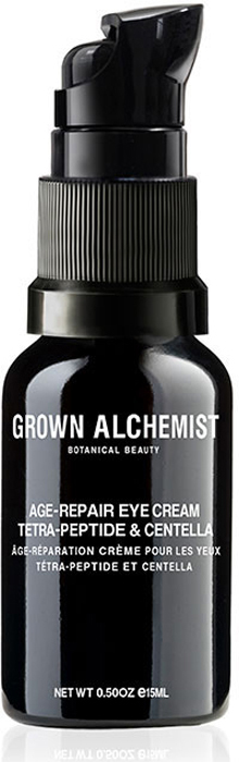 Grown Alchemist Восстанавливающий крем для области вокруг глаз Тетра-пептид и центелла, 15 мл grown alchemist восстанавливающий увлажняющий крем для лица белый чай и фито пептид 40ml