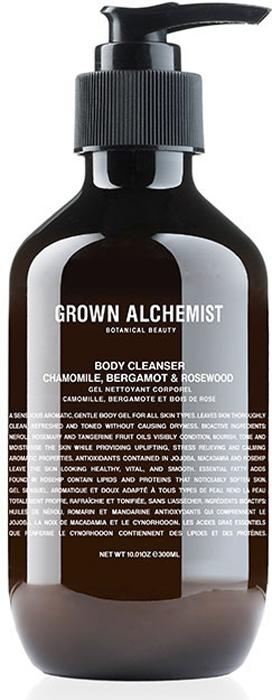 Grown Alchemist Гель для душа Ромашка, бергамот, розовое дерево, 300 млGRA0002Мягкое очищающее средство для тела с нежной гелевой текстурой. Этот гель для тела прекрасно успокаивает кожу и делает принятие душа особенно приятным. Дарит коже чистоту и тонкий аромат. Кожа становится подтянутой, свежей, прекрасно очищенной и увлажненной. Гель также восстанавливает кожу, не стягивая ее. Увлажняет кожу и не стягивает. Противодействует окислительным процессам. Восстанавливает клетки кожи. Повышает эластичность кожи.