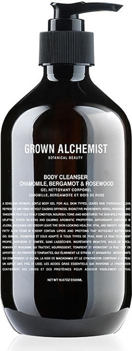 Grown Alchemist Гель для душа Ромашка, бергамот, розовое дерево, 500 мл7270Мягкое очищающее средство для тела с нежной гелевой текстурой. Этот гель для тела прекрасно успокаивает кожу и делает принятие душа особенно приятным. Дарит коже чистоту и тонкий аромат. Кожа становится подтянутой, свежей, прекрасно очищенной и увлажненной. Гель также восстанавливает кожу, не стягивая ее. Увлажняет кожу и не стягивает. Противодействует окислительным процессам. Восстанавливает клетки кожи. Повышает эластичность кожи.