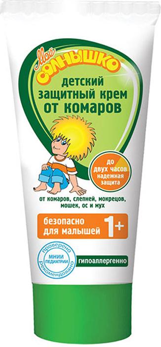 Мое солнышко Крем от комаров, детский, 50 мл02.03.16.1340Крем от комаров Мое солнышко разработан специально для детей. Эффективно защищает от комаров, слепней и других летающих насекомых (москитов, мокрецов, мошек, а также мух и ос). Безопасный для ребенка состав подходит для малышей от 1 года. Обладает мягким приятным запахом. Гипоаллергенно. Одобрено и рекомендовано МНИИ Педиатрии и детской хирургии Минздрава России.Товар сертифицирован.
