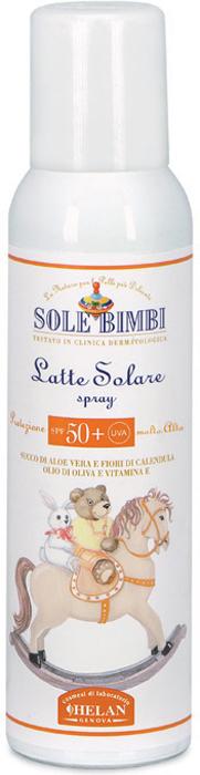Helan Солнцезащитное молочко-спрей Sole Bimbi, SPF50+ UVA, 125 мл41L50Солнцезащитное молочко молочко-спрей для загара Sole Bimbi с ультра-сильной защитой SPF 50+, созданное на основе экстрактов цветков календулы, идеально подойдет для защиты от солнца чувствительной детской кожи.Инновационная система фильтрации УФ лучей спектра А и В для эффективной и максимально естественной защиты нежной кожи ребенка.Календула обладает смягчающими, успокаивающими и освежающими свойствами. Помогает коже обновляться и улучшает ее микроциркуляцию. Особенно подходит для ухода за сухой, шелушащейся, нежной, склонной к покраснениям кожей. Молочко-спрей Sole Bimbi, благодаря инновационной системе фильтрации, эффективно защищает самую чувствительную кожу, даже новорожденных детей.Товар сертифицирован.