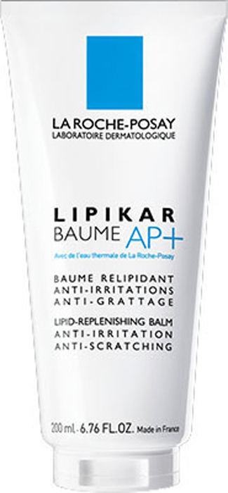 La Roche-Posay Липидовосстанавливающий бальзам для лица и тела Lipikar АП+ 200 млBA4096700Липидовосстанавливающий бальзам разработан для кожи, склонной к атопии или аллергическим реакциям.Увеличивает время между обострениями симптомов атопии. Эффективно уменьшает сухость, зуд и раздражение,моментально успокаивает и смягчает кожу. После использования кожа мягкая и нежная. Для младенцев, детей ивзрослых. Содержит Aqua Posae Filiformis, эксклюзивный запатентованный активный компонент - восстанавливает и нормализует баланс микробиома кожи [+]- восстанавливает и укрепляет кожный барьер Специально разработанная формула содержит активные компоненты, отобранные благодаря их эффективности ибезопасности.