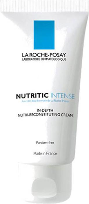 La Roche-Posay Питательный крем для глубокого восстановления кожи лица Nutritic Интенс, 50 млM5263600Выполняют три главных функции для восстановления защиты кожи: Укрепляют структуру кожи, синтезируя протеины и энзимы; Активируют синтез керамидов для восстановления липидов; Восстанавливают увлажненность кожи. Без дополнительного добавления консервантов по сравнению с формулой крема в тюбике.Комфортное состояние кожи, отсутствие ощущения стянутости и покалывания. Возможность свободно выражать эмоции и использовать макияж.Эффективность: После 1-го применения:* Устраняет неприятные ощущения и успокаивает: 94% пользователей. Обеспечивает комфорт кожи на целый день: 89% пользователей.Через 15 дней после применения:* Глубоко питает кожу: 89% пользователей. Кожа обретает свободу выражения: 86% пользователей.