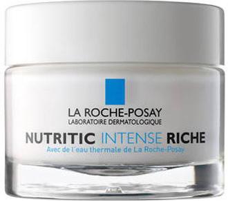La Roche-Posay Питательный крем для глубокого восстановления кожи лица Nutritic Интенс Риш, 50 мл5903240869435Выполняют три главных функции для восстановления защиты кожи: Укрепляют структуру кожи, синтезируя протеины и энзимы; Активируют синтез керамидов для восстановления липидов; Восстанавливают увлажненность кожи. Без дополнительного добавления консервантов по сравнению с формулой крема в тюбике.Комфортное состояние кожи, отсутствие ощущения стянутости и покалывания. Возможность свободно выражать эмоции и использовать макияж. Эффективность: После 1-го применения:* Устраняет неприятные ощущения и успокаивает: 94% пользователей. Обеспечивает комфорт кожи на целый день: 89% пользователей.Через 15 дней после применения:* Глубоко питает кожу: 89% пользователей. Кожа обретает свободу выражения: 86% пользователей.