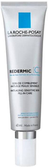 La Roche-Posay Интенcивный уход для сухой чувствительной кожи лица Redermic 35-55 лет [C], 40млM5477700В ходе последних клинических исследований было установлено, что чувствительная кожа имеетсвои особенности старения. В случае, если кожа чувствительная, традиционные признаки старения сопровождаются покраснениями кожи. Покраснения усиливают неоднородность цвета лица. Чувствительная кожа с неоднородным цветом лица выглядит старше Чувствительной коже необходим особый уход, который комплексно воздействует на признаки старения и обладает высокой переносимостью для чувствительной кожи. Средство REDERMIC [C] уменьшают морщины, повышают упругость кожи и выравнивают цвет лица благодаря входящим в состав активнымкомпонентам: Витамин С, Манноза и Фрагментированная Гиалуроновая кислота. Упругость кожи повышается, поверхностные морщинки разглаживаются, глубокие морщины корректируются. Цвет кожи более ровный, покраснения менее выражены.Сразу после нанесения кожа более нежная, мягкая. День за днем она выглядит более упругой, цвет лица улучшается.