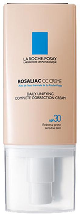La Roche-Posay Комплексный дневной корректирующий кр��м Rosaliac СС 50 мл la roche posay rosaliac гель 200 мл