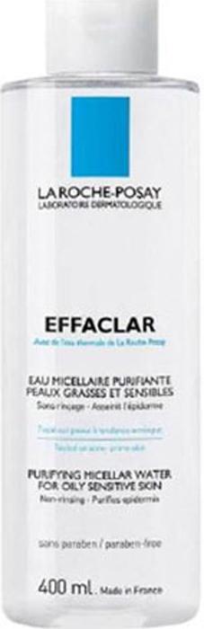 La Roche-Posay Мицеллярный очищающий раствор для снятия макияжа Effaclar 400 мл la roche posay effaclar duo unifant тонирующий