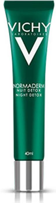 Vichy Ночной крем Детокс Normaderm, 40 мл vichy aqualia thermal крем легкий тюбик 40 мл