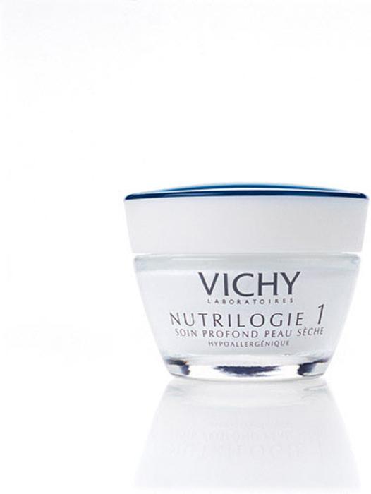 Vichy Kрем-уход глубокого действия для сухой кожи Nutrilogie 1, 50 млV011001Действует на первопричину сухости кожи. Восстанавливает барьерные свойства эпидермиса за счёт повышения уровня синтеза кожей собственных керамидов и липидов. Устраняет ощущение стянутости. Увлажняет, питает, смягчает, ухаживает за сухой кожей. Защищает от неблагоприятных внешних воздействий, в том числе от обветривания и от обмораживания. Кожа сухого типа начинает чувствовать себя более комфортно. Протестировано на чувствительной коже. Подходит в качестве основы под макияж.