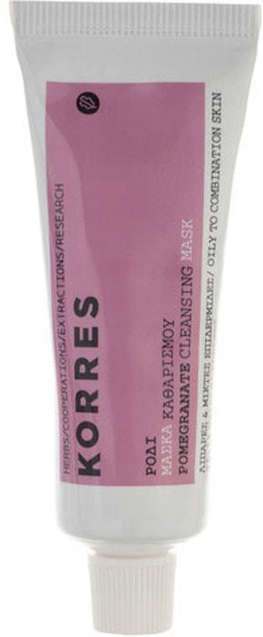 Korres Очищающая маска с гранатом для жирной кожи 16 мл520306904000991, 1% натуральных ингредиентов. Для любого возраста, для жирной и комбинированной кожи. Маска глубокого очищения на основе белой глины устраняет излишки кожного жира, уменьшает поры. Маска богата каолином, который знаменит своими абсорбирующими свойствами. Глубоко очищает и стягивает поры, делает кожу чистой и свежей. Цинк регулирует секрецию сальных желез, обеспечивает антибактериальную защиту, восстанавливает баланс кожи. Плоды граната содержат целый комплекс минеральных веществ, среди которых кальций, калий, кремний, железо и йод, а также витамины С, Р, В6 и В12. Кожура граната богата дубильными веществами и урсуловой кислотой. Масло гранатовых косточек богато витамином Е и полиненасыщенной гранатовой кислотой, также в нем содержится дубильная и стеариновая кислоты. Входящие в состав граната кислоты эффективны в борьбе с пигментацией кожи, а также обеспечивают выраженный омолаживающий эффект. Экстракт граната снижает секрецию сальных желез, способствует сужению пор. Благодаря уникал * Цинк - регулирует секрецию сальных желез, оказывает антибактериальное действие * Каолин - абсорбирует излишки себума, очищает поры * Масло жожоба - придает упругость коже, смягчает её * Экстракт граната - богат танинами и полифенолами, сужает поры и нормализует выделительную функцию сальных желез * Фитиновая кислота (сырьё: жмых зёрен пшеницы) - обладает мягким отшелушивающим действием, стимулирует процессы обновления кожи. Выравнивает текстуру и тон кожи, уменьшая проявления пигментных пятен, инактивирует тиразиназу. Обладает противовоспалительным действиемНанести на предварительно очищенную кожу, избегая области вокруг глаз. Оставить на 10 минут. Смыть водой. Идеально использовать 1 - 2 раза в неделю после Скраба с гранатом и оливковой косточкой для жирной кожи.