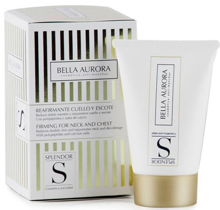 Bella Aurora Крем укрепляющий для шеи и декольте 50 млBA4094810Соли кальция и последнее поколение пептидов успешно справляются с признаками старения в этой зоне.Уменьшает характерную расслабленность тканей шеи, что видимо уменьшает двойной подбородок и делает кожу мягче и эластичнее. - уменьшает двойной подбородок; - борется с провисанием кожи на шее; - мгновенно подтягивает кожу; - уменьшает морщины; - уплотняет кожу и делает ее прочнои; - глубоко увлажняет кожу.