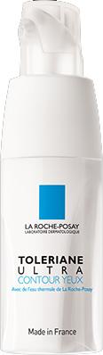 La Roche-Posay Крем Toleriane Ультра для глаз, 20 млM0350300Успокаивающее и увлажняющее средство для контура глаз• Уменьшает припухлость и ощущения дискомфорта кожи вокруг глаз. • Эффективно снимает покраснение, раздражение и отечность в области век. • Значительно снижает чувствительность при постоянном применении. • Эффективно увлажняет и смягчает кожу вокруг глаз. Уход для сверхчувствительной кожи вокруг глаз, склонной к покраснениям, припухлости, жжению или ощущению дискомфорта на основеТермальной воды La Roche-Posay. Увлажняющий и ультрасмягчающий уход с запатентованным комплексом (Нейросенсин + Ниацинамид) уменьшает припухлость и ощущениядискомфорта кожи вокруг глаз. Формула обладает успокаивающим и защитным действием.Подходит для носителей контактных линз. Рекомендуется наносить средство каждое утро и вечер на очищенную кожу вокруг глаз. Только для наружного применения.