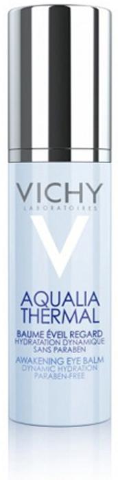 Vichy Aqualia Thermal Пробуждающий бальзам для контура глаз, 15 мл vichy аква гель дневной спа ритуал aqualia thermal 75 мл аква гель дневной спа ритуал aqualia thermal 75 мл 75 мл