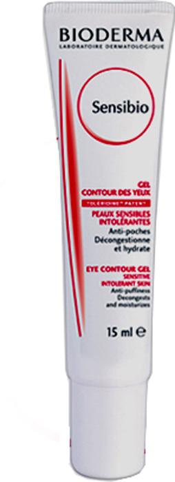 Bioderma гельSensibio для контура глаз 15 мл гели bioderma гель гуммирующий глубокоочищающий себиум 100мл